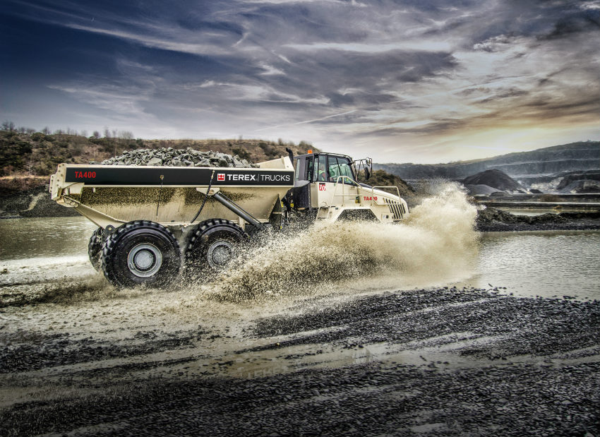 Terex Trucks signs three new dealers in France: Manu Lorraine Group, Framateq and Promatex
