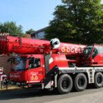Concrete specialist dechant hoch- und ingenieurbau adds a Grove GMK4100L-1