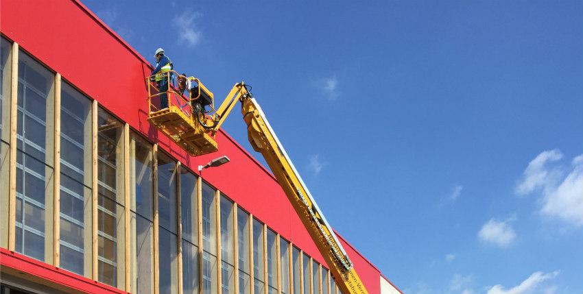 MAYER receives GenieSX-105XC boom lift in Germany
