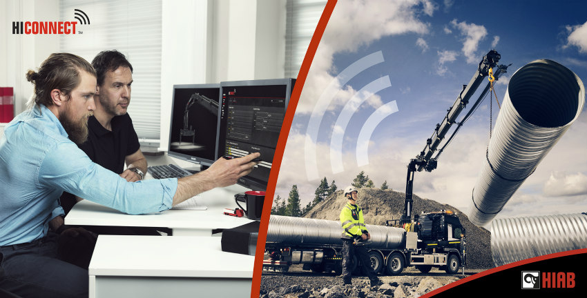 Hiab's pioneering product offering and connected solutions at the IAA 2018 exhibition