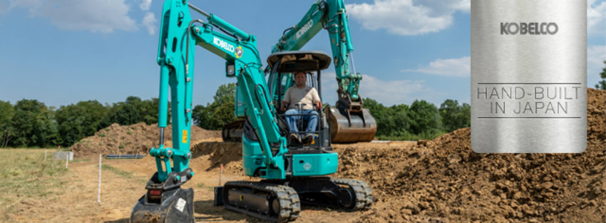 Kobelco to showcase smaller-capacity excavator range at GaLaBau