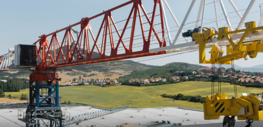 Comansa launches the new 21LC1050 flat-top crane