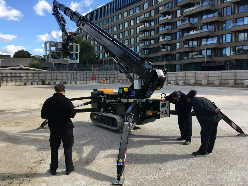 One RAGNO XTJ 32 Hybrid Lithium by Palazzani Industrie for Television Centre and White City in London