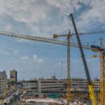 Four Potain cranes build new police hospital in Peru