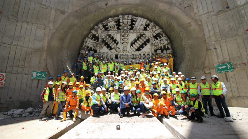 ACCIONA Construction completes the excavation works for the Quito Metro tunnel