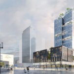Jean-Paul Viguier et Associés ranks 3rd in the competition for a new tower in Alexanderplatz