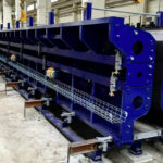 Production lines for prestressed bridge girders in Slovakia