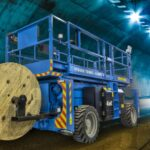Hybeko introduces new 'Tunnel' rough terrain scissor lift, Norway