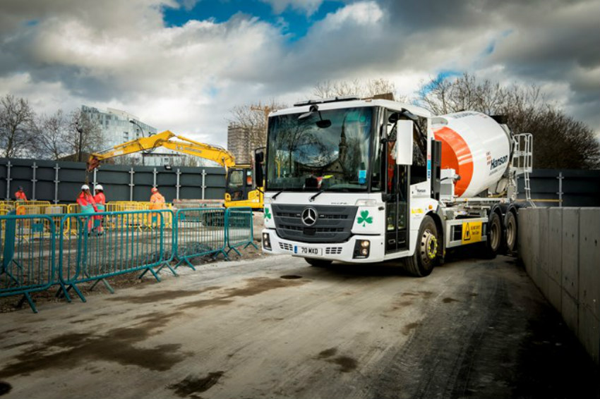 Fleet of safer HGVs helps protect vulnerable road users
