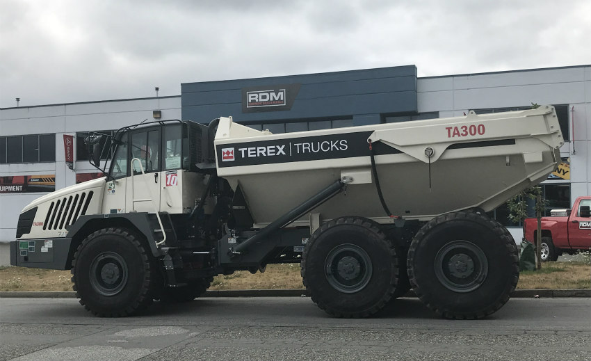 Terex Trucks signs RDM Equipment Sales and Rentals as new dealer in British Columbia