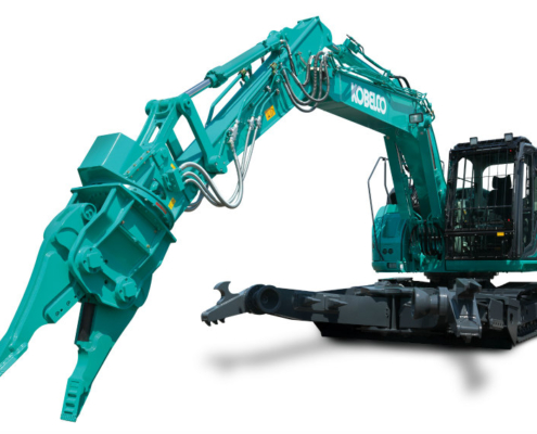 Kobelco strengthens its demolition range with the SK140SRD