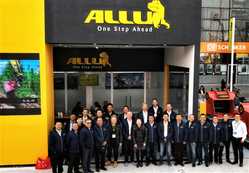 Processors and Transformers from ALLU at bauma China