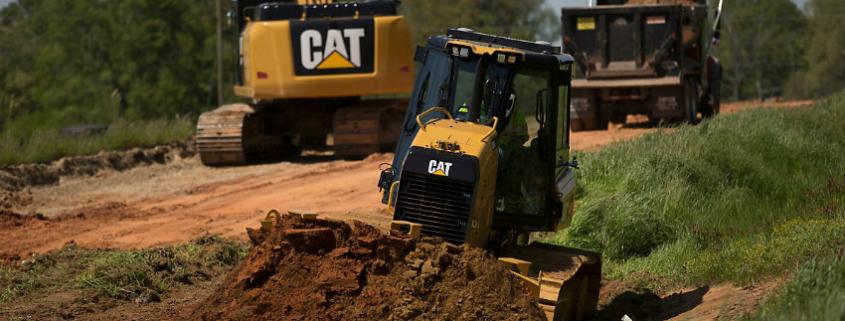 New Cat GRADE with 3D system for D3K2, D4K2 and D5K2 track-type tractors