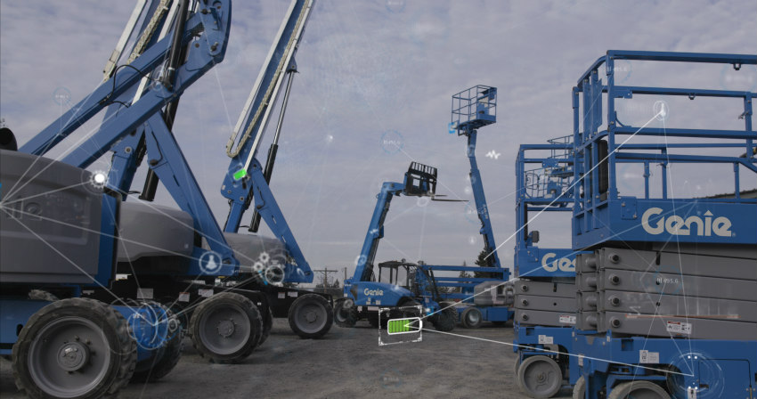 New fleet management solutions with Genie Lift Connect telematics