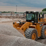 Cat 990K Aggregate Handler boosts wheel loader production in rehandling applications
