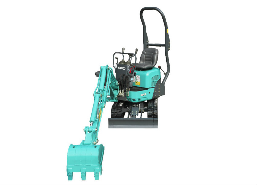 Kobelco re-launches its mini excavators at bauma 2019