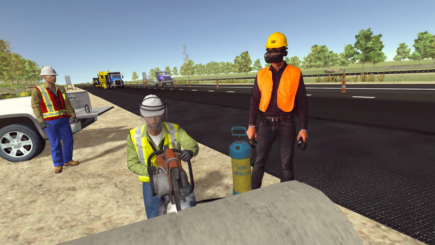 New Cat Safety VR module creates an immersive safety training experience for employees