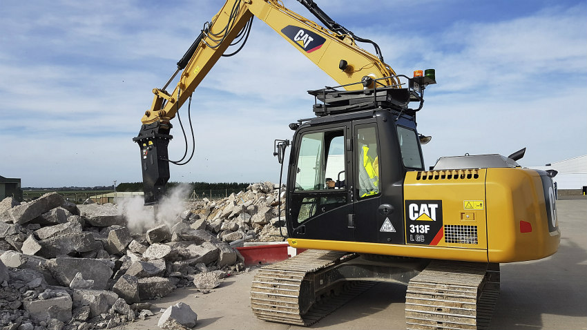 New Cat GC S Series hydraulic hammers increase efficiency and lower costs