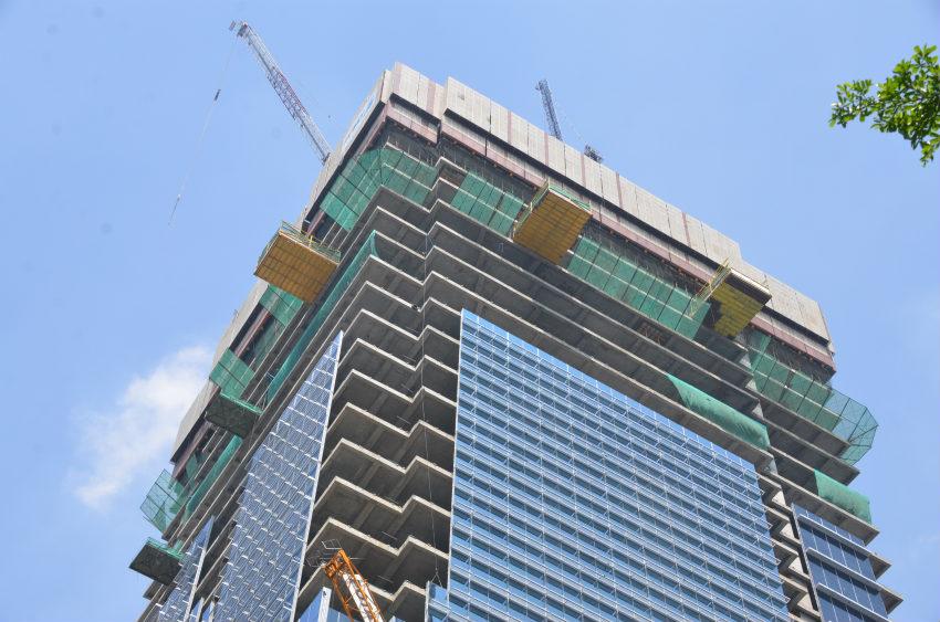 ULMA has taken part in the Thamrin Nine skyscraper construction project