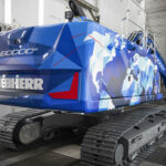 The 60,000th crawler excavator by Liebherr-France SAS in Colmar
