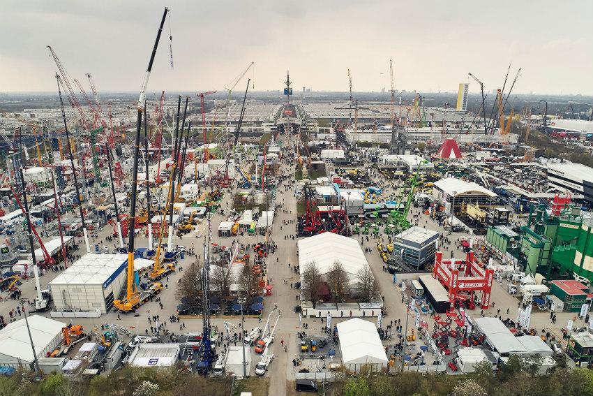 bauma 2019: The fair attracts more than 620,000 visitors