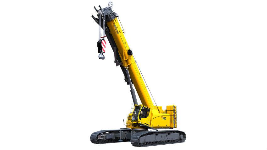Manitowoc introduces best-in-class Grove GHC140 telescopic crawler crane
