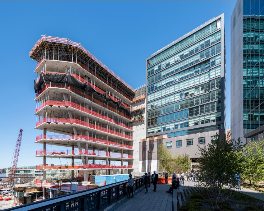 ULMA takes part in the construction project of the 40 Tenth Avenue building in Manhattan