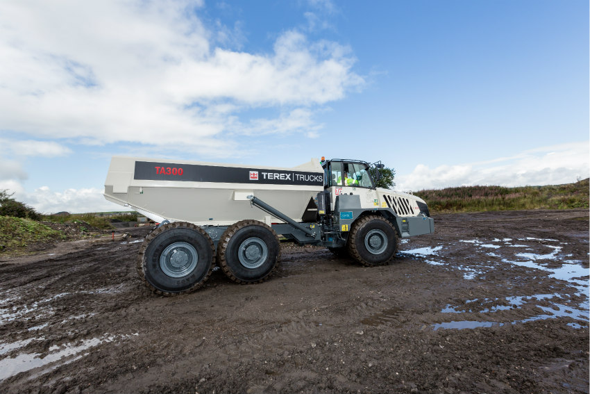 Terex Trucks' TA300 showcases latest product updates at CQMS 2019