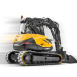 MCR excavators: The speed of a loader combined with the rotation of an excavator