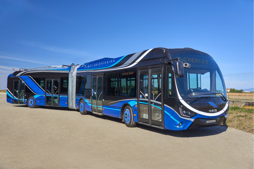 IVECO BUS at the UITP World Summit, in Stockholm