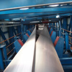 Closed-trough conveyor belts ensure energy-efficient and low-dust coal transport in China