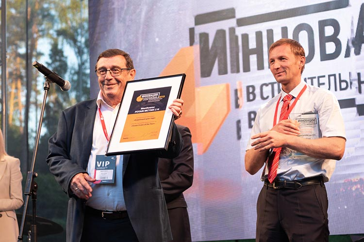 """Potain MCT 385 L14 hailed """"Tower Crane of the Year"""""""
