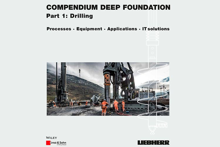 "Liebherr release new reference book the ""Compendium Deep Foundation"""