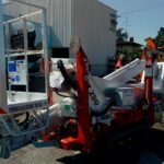 One new Palazzani Spider Lift in Tuscany, Ragno model TZX 250/C