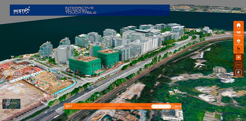 Digital Twin Campus Initiative for Hong Kong Science Park