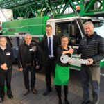 New Zealand acuired first Liebherr mobile construction crane