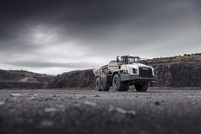 Terex Trucks' upgraded TA300 was exhibit at Matexpo