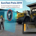 Active personnel detection received BG BAU's EuroTest Prize