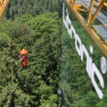 Liebherr tower crane supports climate research project