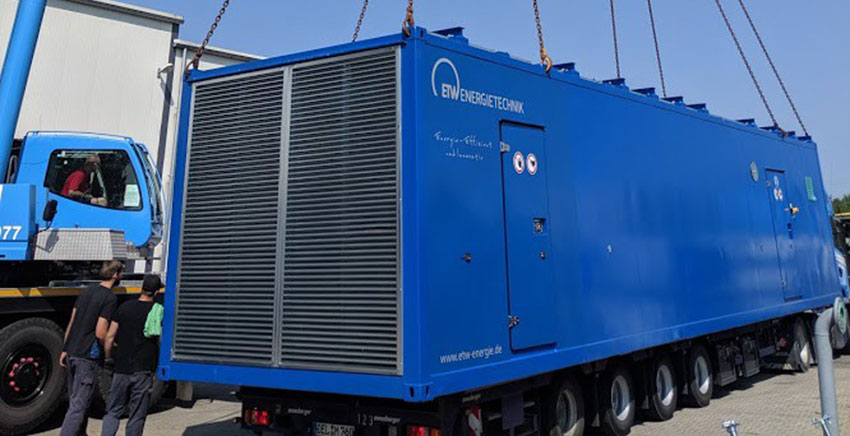ETW Energietechnik exchanges CHP units for biogas plant in Germany