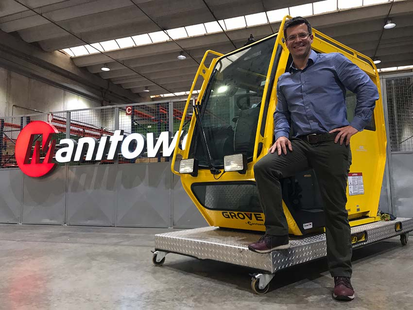 Manitowoc appoints new sales director for Brazil