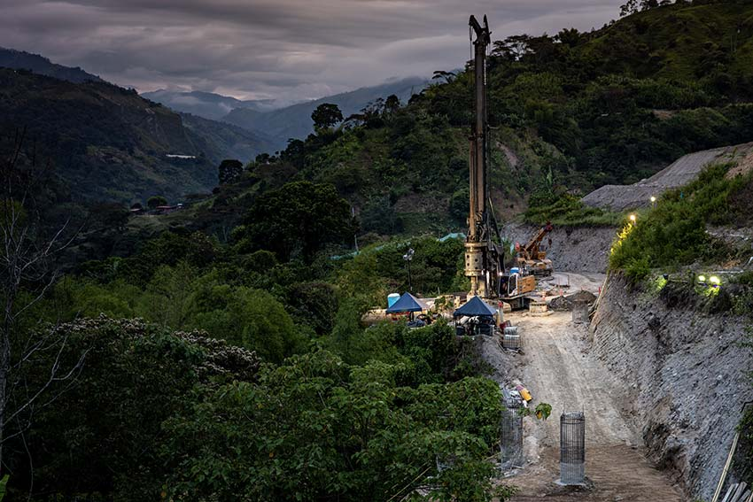 In Awe of the Volcano: Drilling in the Shadow of the Nevado del Tolima