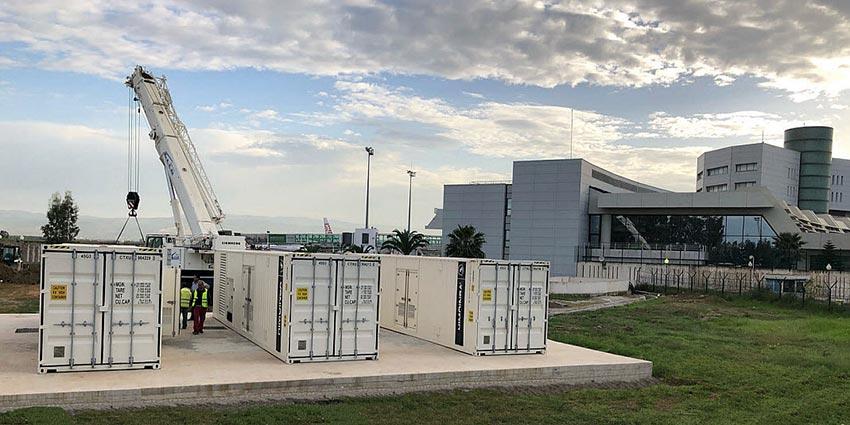 HIMOINSA supplies emergency power to Algeria's International Airport