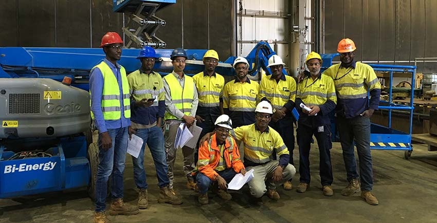 Genie technical training boost uptime at gold mine, Mauritania