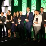 The winners of the 5th edition ITA Tunnelling Awards 2019