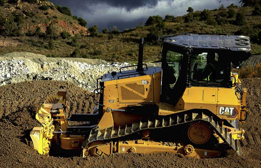New CAT D5 Dozer delivers next generation performance