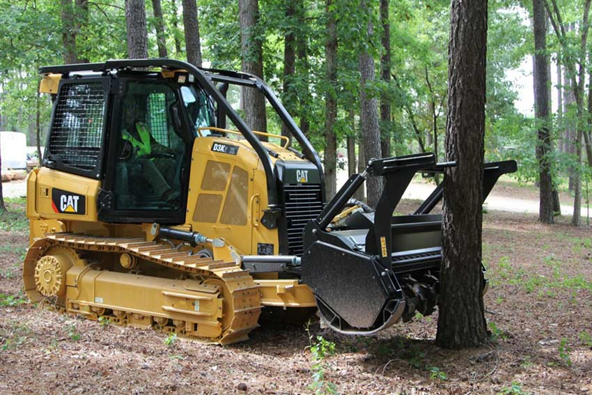 CAT® D3K2 mulcher features durable, productive design
