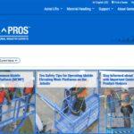 New ti EMEAR & APAC — GENIE ® AERIAL PROS ™ website expands