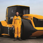 BKT has equipped JCB's record-breaking Fastrac tractor