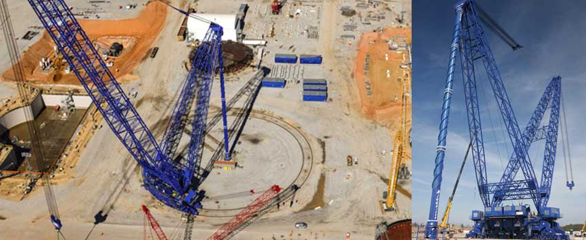 Two of World's Largest Land-Based Super Cranes, Bigge AFRDs for Sale